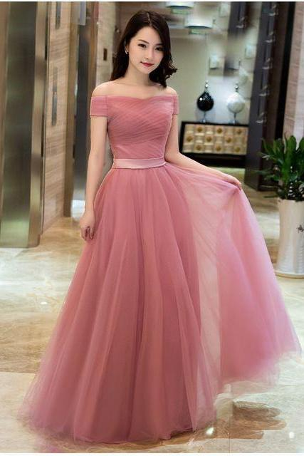 High Quality New Arrival Short Sleeves Formal Occasion Dress