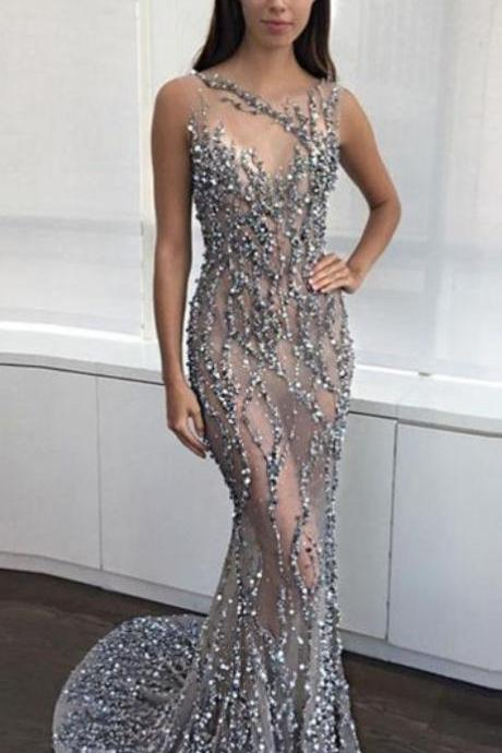 Luxury prom dresses 2018 New prom dresses,prom dresses,mermaid prom dresses, High Quality Sexy Evening dresses