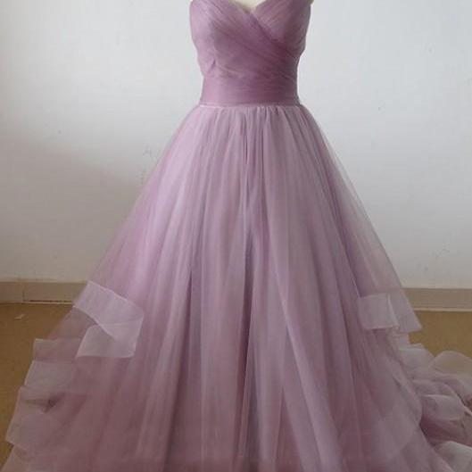 Hot Charming Prom Dress Sweetheart neck Prom Dress A-Line Prom Dress tulle Prom Dress